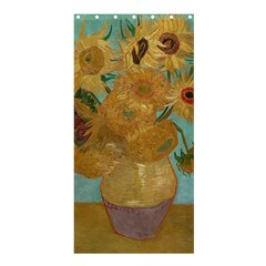 Vincent Willem Van Gogh, Dutch   Sunflowers   Google Art Project Shower Curtain 36  x 72  (Stall)