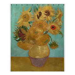 Vincent Willem Van Gogh, Dutch   Sunflowers   Google Art Project Shower Curtain 60  x 72  (Medium)