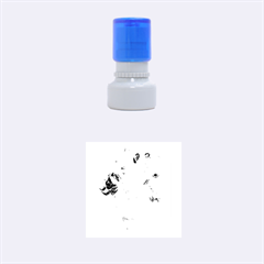 Vincent Willem Van Gogh, Dutch   Sunflowers   Google Art Project Rubber Round Stamps (small)