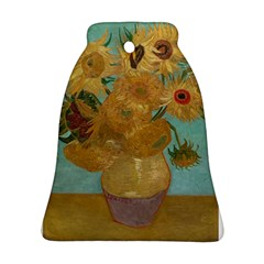 Vincent Willem Van Gogh, Dutch   Sunflowers   Google Art Project Bell Ornament (2 Sides)