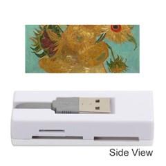 Vincent Willem Van Gogh, Dutch   Sunflowers   Google Art Project Memory Card Reader (stick)