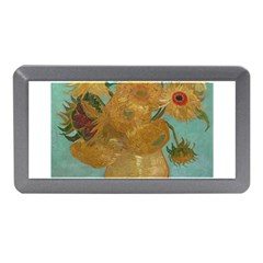 Vincent Willem Van Gogh, Dutch   Sunflowers   Google Art Project Memory Card Reader (mini)