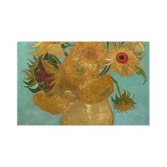 Vincent Willem Van Gogh, Dutch   Sunflowers   Google Art Project YOU ARE INVITED 3D Greeting Card (8x4)