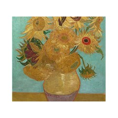 Vincent Willem Van Gogh, Dutch   Sunflowers   Google Art Project Birthday Cake 3d Greeting Card (7x5)