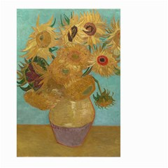 Vincent Willem Van Gogh, Dutch   Sunflowers   Google Art Project Large Garden Flag (two Sides)