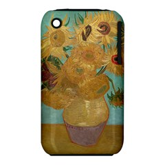 Vincent Willem Van Gogh, Dutch   Sunflowers   Google Art Project Apple Iphone 3g/3gs Hardshell Case (pc+silicone)