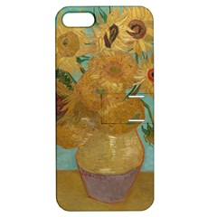 Vincent Willem Van Gogh, Dutch   Sunflowers   Google Art Project Apple Iphone 5 Hardshell Case With Stand