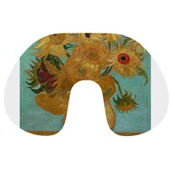 Vincent Willem Van Gogh, Dutch   Sunflowers   Google Art Project Travel Neck Pillows