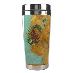 Vincent Willem Van Gogh, Dutch   Sunflowers   Google Art Project Stainless Steel Travel Tumblers