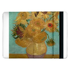 Vincent Willem Van Gogh, Dutch   Sunflowers   Google Art Project Samsung Galaxy Tab Pro 12 2  Flip Case
