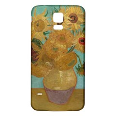 Vincent Willem Van Gogh, Dutch   Sunflowers   Google Art Project Samsung Galaxy S5 Back Case (white)