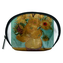 Vincent Willem Van Gogh, Dutch   Sunflowers   Google Art Project Accessory Pouches (Medium)