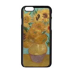 Vincent Willem Van Gogh, Dutch   Sunflowers   Google Art Project Apple iPhone 6 Black Enamel Case