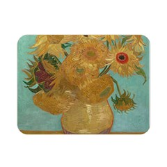 Vincent Willem Van Gogh, Dutch   Sunflowers   Google Art Project Double Sided Flano Blanket (mini)