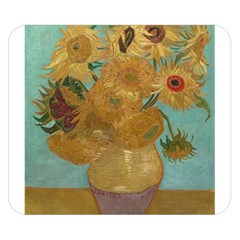 Vincent Willem Van Gogh, Dutch   Sunflowers   Google Art Project Double Sided Flano Blanket (Small)