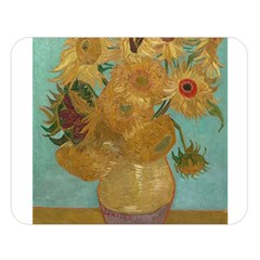 Vincent Willem Van Gogh, Dutch   Sunflowers   Google Art Project Double Sided Flano Blanket (Large)