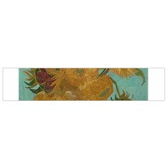 Vincent Willem Van Gogh, Dutch   Sunflowers   Google Art Project Flano Scarf (small)