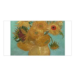 Vincent Willem Van Gogh, Dutch   Sunflowers   Google Art Project Satin Shawl