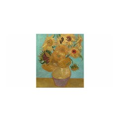 Vincent Willem Van Gogh, Dutch   Sunflowers   Google Art Project Satin Wrap