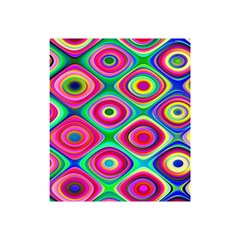 Psychedelic Checker Board Shower Curtain 48  X 72  (small)