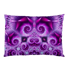 Purple Ecstasy Fractal artwork Pillow Cases (Two Sides)