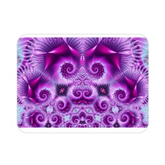 Purple Ecstasy Fractal artwork Double Sided Flano Blanket (Mini)