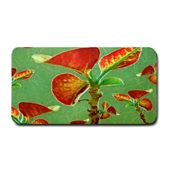 Tropical Floral Print Medium Bar Mats