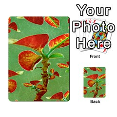 Tropical Floral Print Multi-purpose Cards (Rectangle)