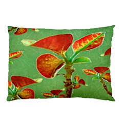 Tropical Floral Print Pillow Cases (two Sides)