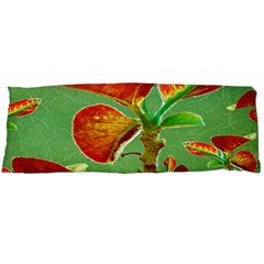 Tropical Floral Print Body Pillow Cases Dakimakura (Two Sides)