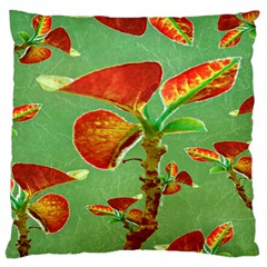 Tropical Floral Print Large Cushion Cases (one Side)