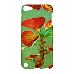 Tropical Floral Print Apple Ipod Touch 5 Hardshell Case