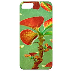 Tropical Floral Print Apple Iphone 5 Classic Hardshell Case