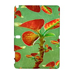 Tropical Floral Print Samsung Galaxy Note 10 1 (p600) Hardshell Case