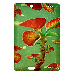 Tropical Floral Print Kindle Fire Hd (2013) Hardshell Case