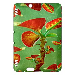 Tropical Floral Print Kindle Fire Hdx Hardshell Case