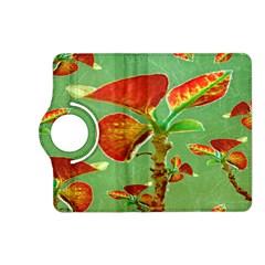 Tropical Floral Print Kindle Fire Hd (2013) Flip 360 Case