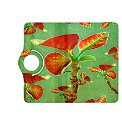 Tropical Floral Print Kindle Fire Hdx 8 9  Flip 360 Case