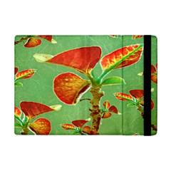 Tropical Floral Print Ipad Mini 2 Flip Cases