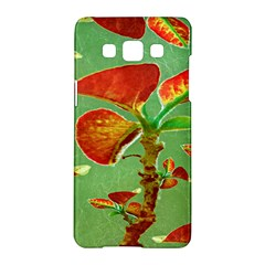 Tropical Floral Print Samsung Galaxy A5 Hardshell Case