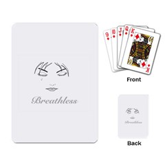 Breathless Playing Card