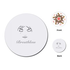 Breathless Playing Cards (Round)