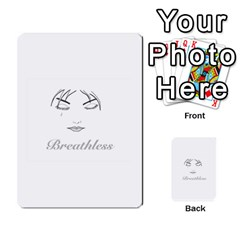 Breathless Multi-purpose Cards (Rectangle)