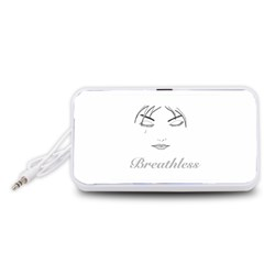 Breathless Portable Speaker (white)