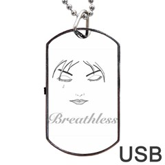 Breathless Dog Tag Usb Flash (two Sides)