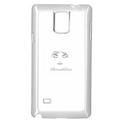 Breathless Samsung Galaxy Note 4 Case (White)