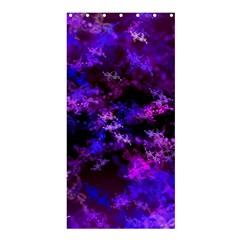 Purple Skulls Goth Storm Shower Curtain 36  x 72  (Stall)
