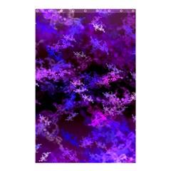 Purple Skulls Goth Storm Shower Curtain 48  x 72  (Small)