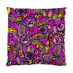 Purple Tribal Abstract Fish Standard Cushion Case (One Side)