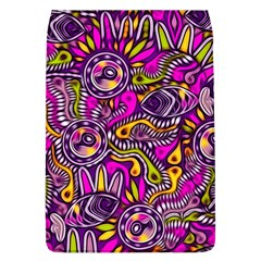 Purple Tribal Abstract Fish Flap Covers (l)